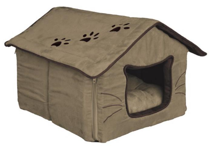 La niche pour chat designs amusants for Niche chien interieur