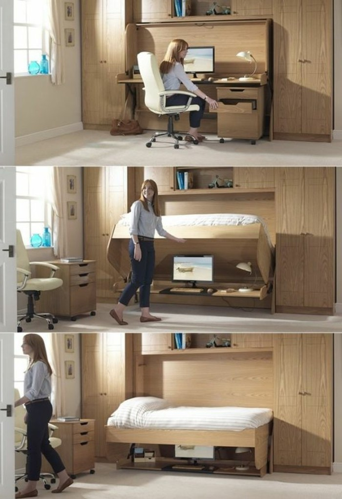 le bureau pliable est fait pour faciliter votre vie. Black Bedroom Furniture Sets. Home Design Ideas