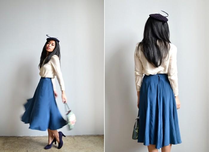 V tement vintage pour le printemps 10 conseils pour votre garde robe arc - Acheter un portant pour vetements ...