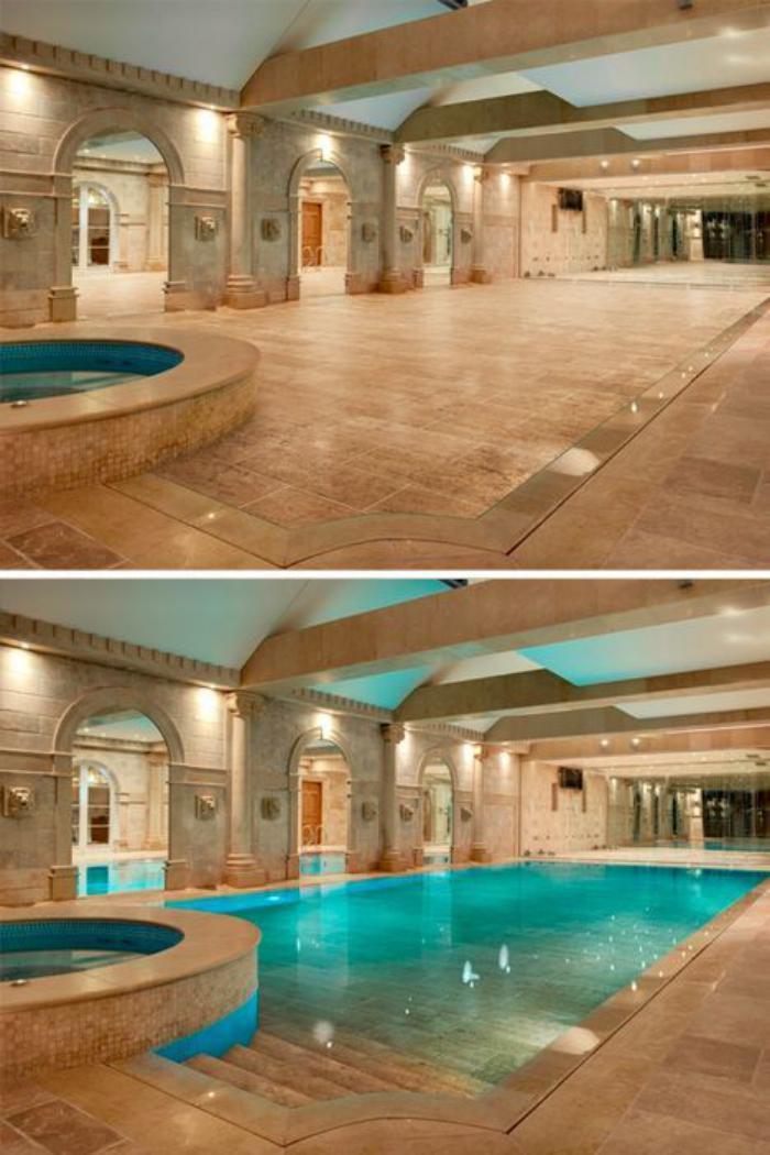 la piscine int rieure un luxe un r ve une installation de sport. Black Bedroom Furniture Sets. Home Design Ideas