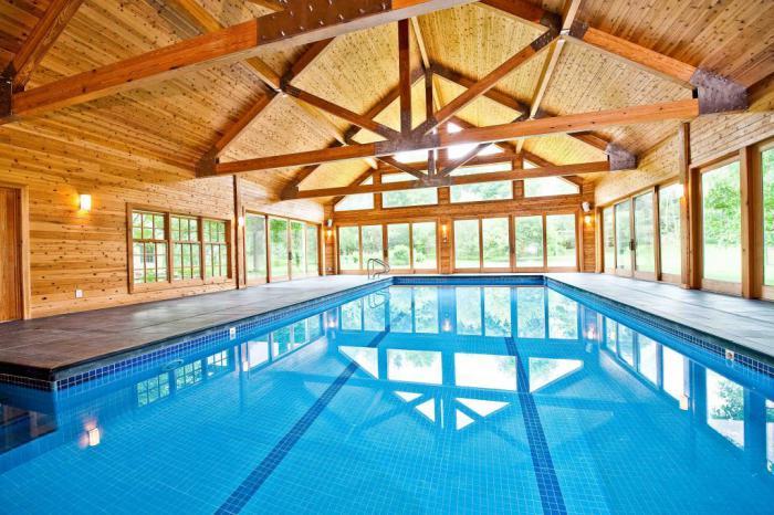 piscine-intérieure-intérieur-de-chalet-moderne