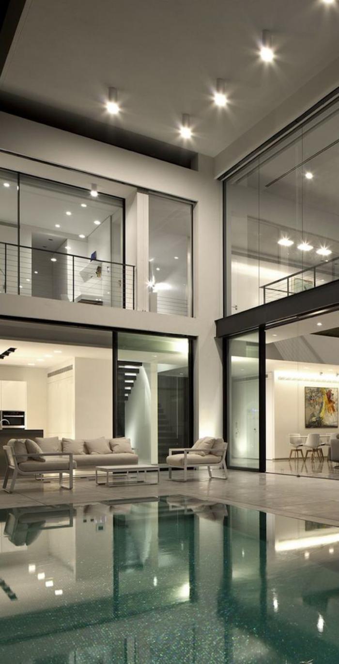Interieur maison luxueuse for Maison luxueuse moderne