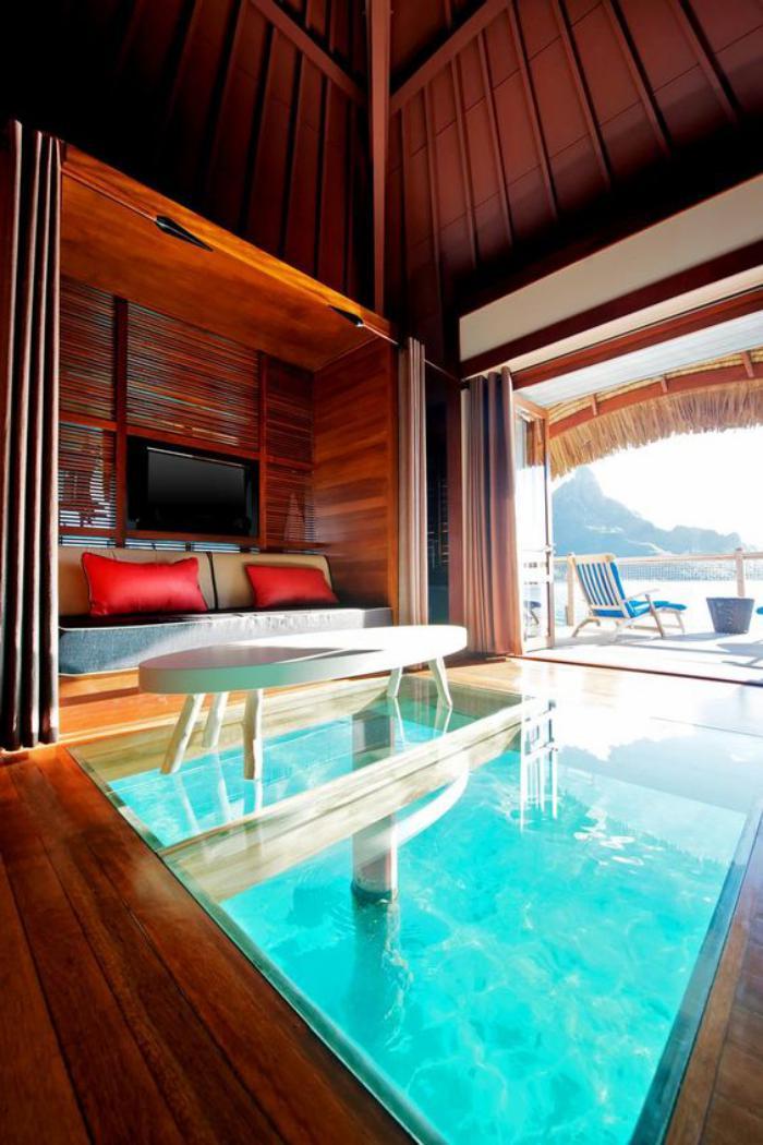 42 photos de la polyn sie fran aise une destination for Design hotel karibik