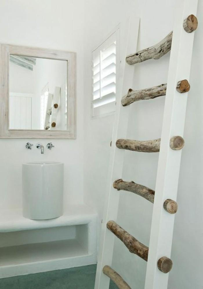 le porte serviette en 40 photos d 39 id es pour votre salle. Black Bedroom Furniture Sets. Home Design Ideas