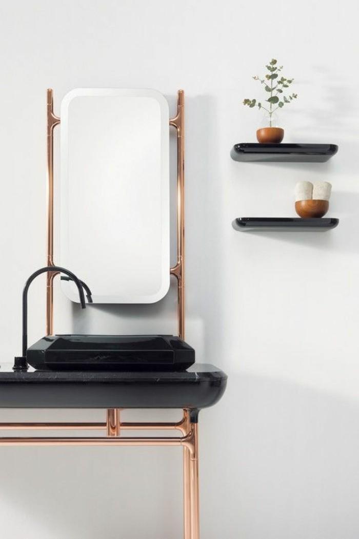Le porte serviette en 40 photos d 39 id es pour votre salle for Rangement mural salle de bain
