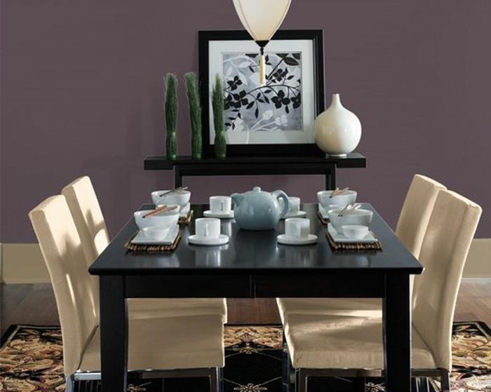 Id es salle manger id es salle mangers - Couleur de peinture pour salle a manger ...