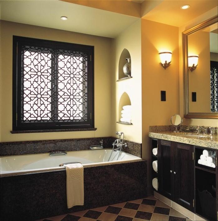 salle de bain orientale 40 id es inspirants. Black Bedroom Furniture Sets. Home Design Ideas