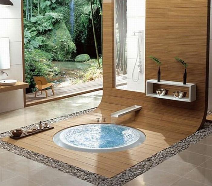 Salle de bain orientale 40 id es inspirants for Materiaux salle de bain