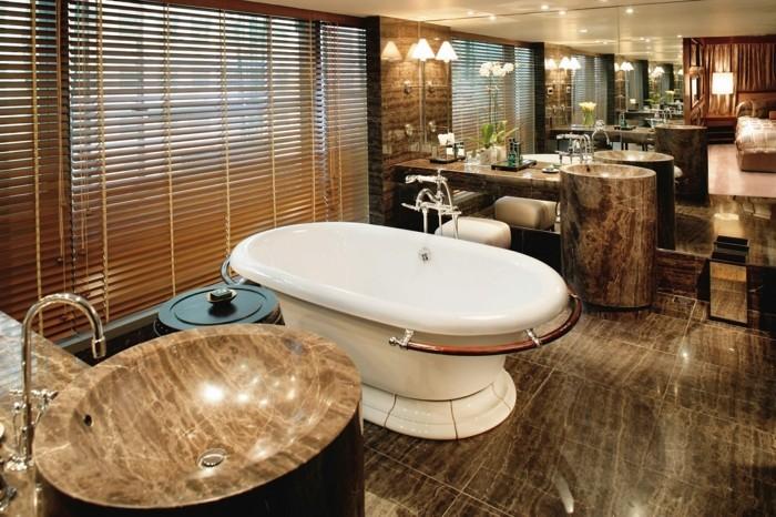 Salle de bain orientale 40 idees inspirants for Salle de bain design avec décoration de table exotique