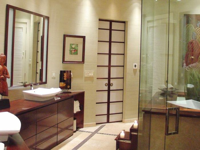 photo salle de bain asiatique salle de bain orientale design lombards - Salle De Bain Orientale Design