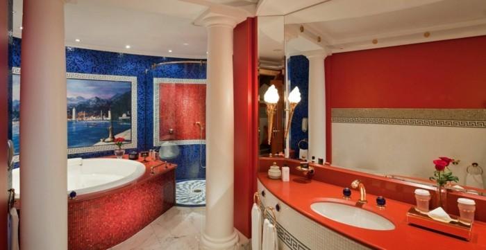 Salle de bain orientale 40 id es inspirants - Lumiere dans salle de bain ...