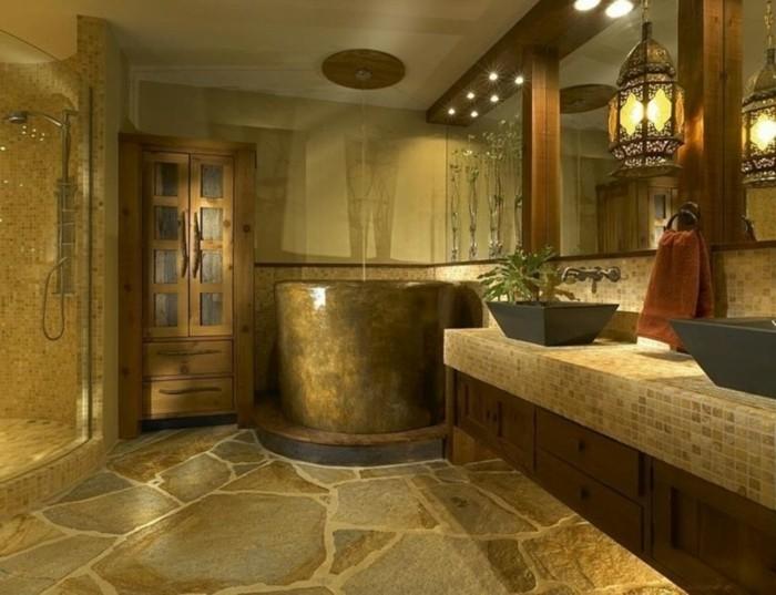 salle de bain orientale mosaique andalouse marie claire - Salle De Bain Orientale Design