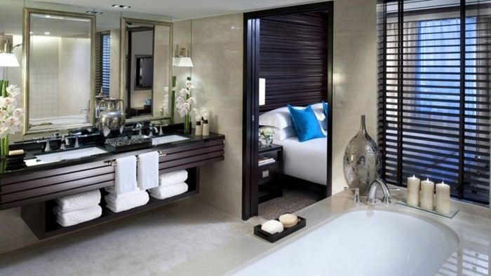 salle de bain orientale 40 id es inspirants. Black Bedroom Furniture Sets. Home Design Ideas