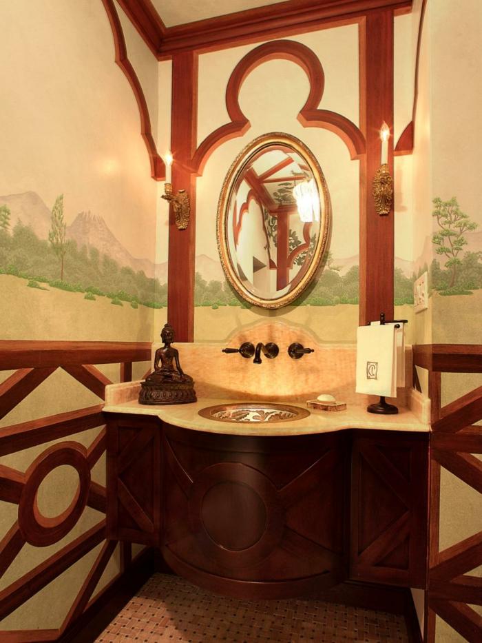 salle de bain orientale mosaique andalouse - Salle De Bain Orientale Design