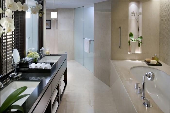 Stunning salle de bain style oriental ideas awesome for Salle de bain style urbain