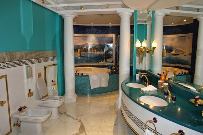 Salle De Bain Inspiration Marocaine: Une salle de bain marocaine ...