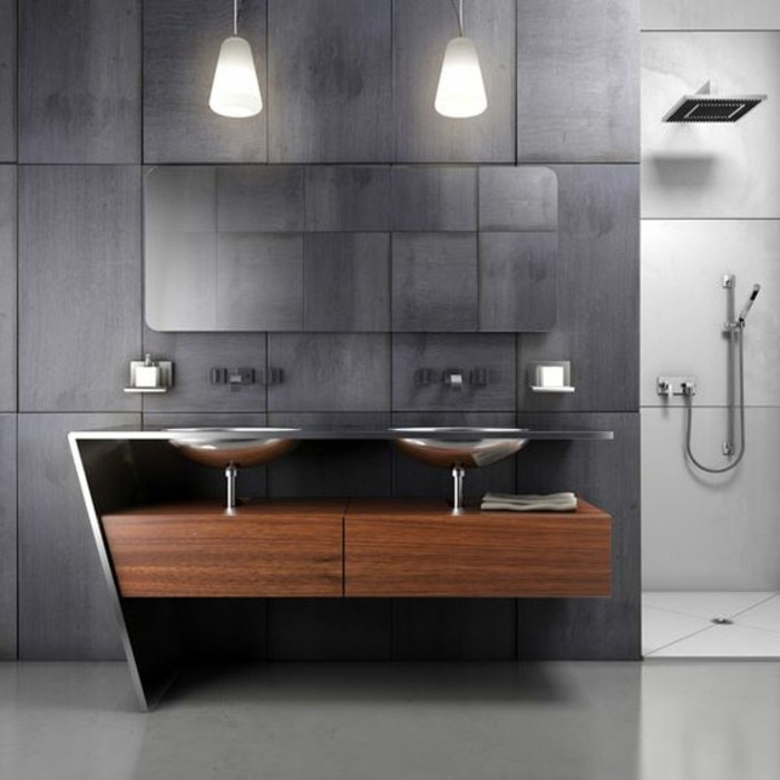 l armoire de toilette quel design choisir et quel mat riau. Black Bedroom Furniture Sets. Home Design Ideas