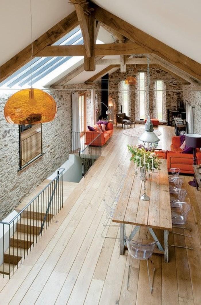 salle-de-séjour-en-bois-clair-sol-en-planchers-en-bois-clair-meubles-de-salon-modernes