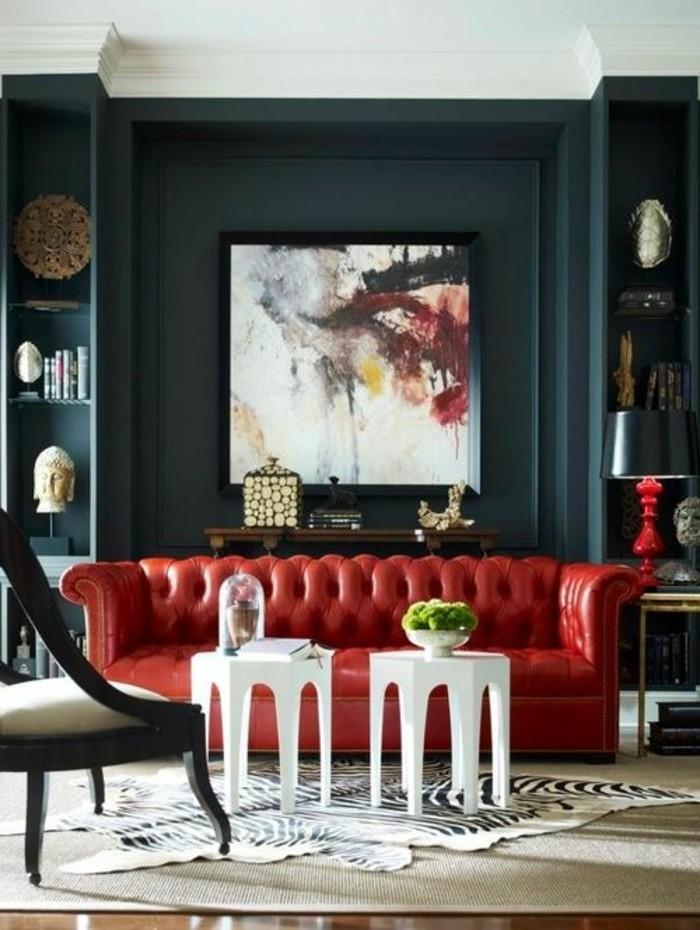 salon-avec-canapé-chesterfield-pas-cher-rouge-canapé-chesterfield-pas-cher-cuir-rouge