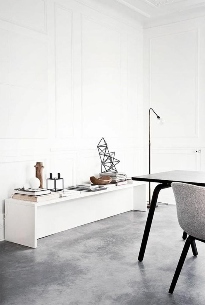 salon-blanc-gris-meubles-gris-sol-en-beton-decoratif-gris-plan-de-travail-béton-ciré-béton-décoratif