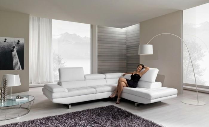 Le canap d 39 angle arrondi comment choisir la meilleure variante pour votre salon for Les meuble de salon