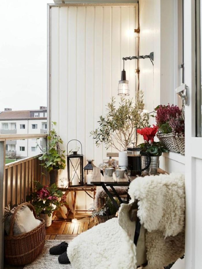 Les meilleures id es comment d corer son balcon - Decorer une terras ...