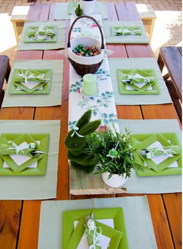 superbe-idée-bricolage-de-pâques-bricolage-paques-inspiration-table