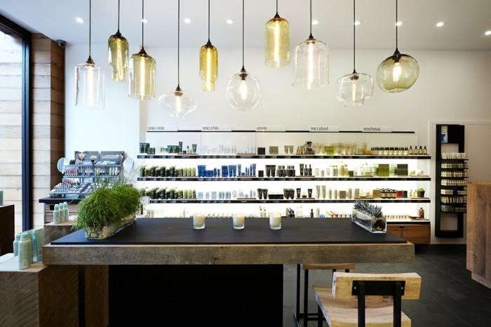 superbe-luminaires-suspension-design-abat-jour-suspension-cool-idée-salle-de-séjour-magazine