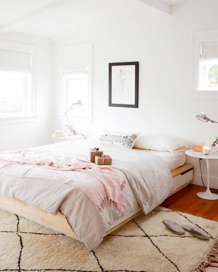 tapis-marocain-chambre-à-coucher-style-ethnique