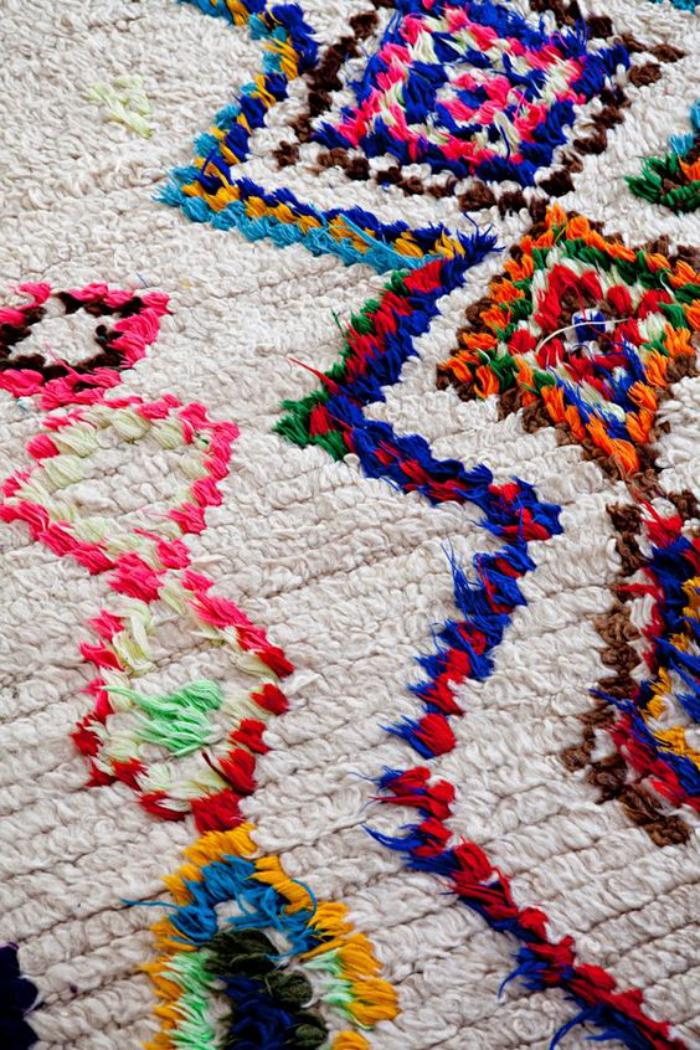 La magie du tapis marocain en 44 photos for La redoute tapis salle de bain