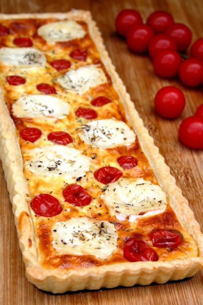 tarte-salée-aux-tomates-et-mozarella
