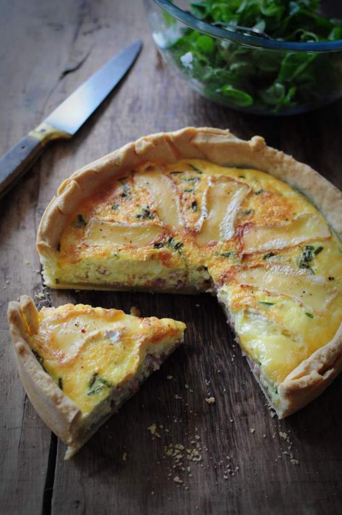 tarte-salée-faire-une-tarte-salée-aux-épinards