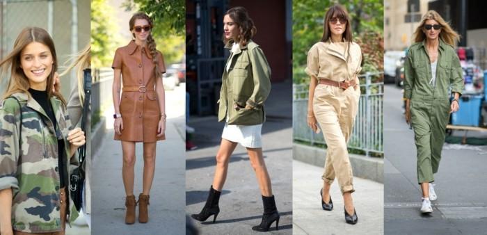 tendance-mode-printemps-été-military-trend-NYFW-SS-2016-le-style-de-la-rue