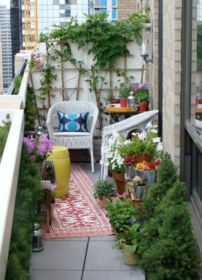 trop-cool-idée-aménagement-terrasse-deco-terrasse-jardin-originale-tapis-oriental