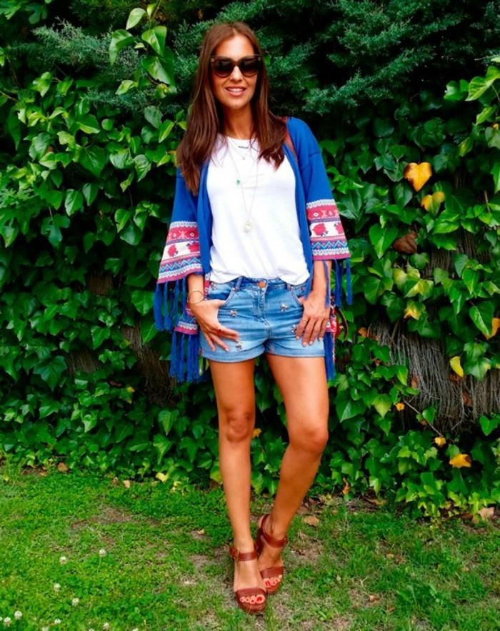 vêtements-look-boheme-chic-en-tendance-2016-printemps-été-au-jardin-vert