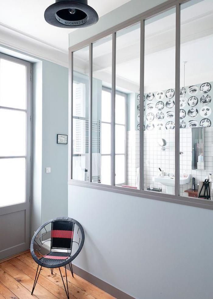 verrière-intérieure-cloison-vitrée-style-atelier