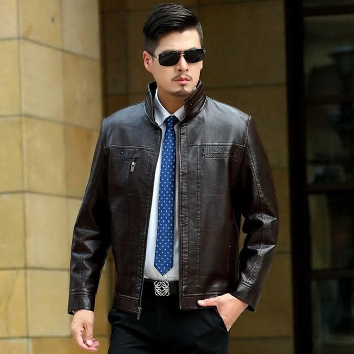 Le blouson cuir homme symbole de masculinit for Veste de chambre homme