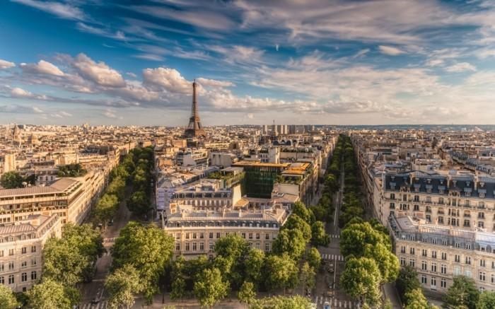 Voyage les plus belles terrasses Paris la plus belle ville superbe relaxant