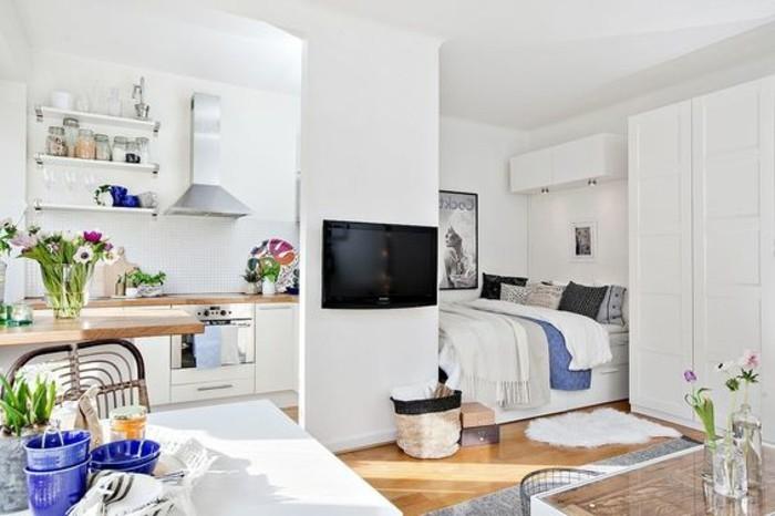 0-aménagement-petit-salon-blanc-sol-en-parquet-clair-murs-blancs-table-d-interieur