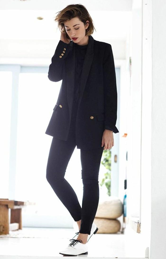 0-autfit-elegant-en-noir-derbies-femmes-cuir-blanc-bottine-e-lacet-blanc