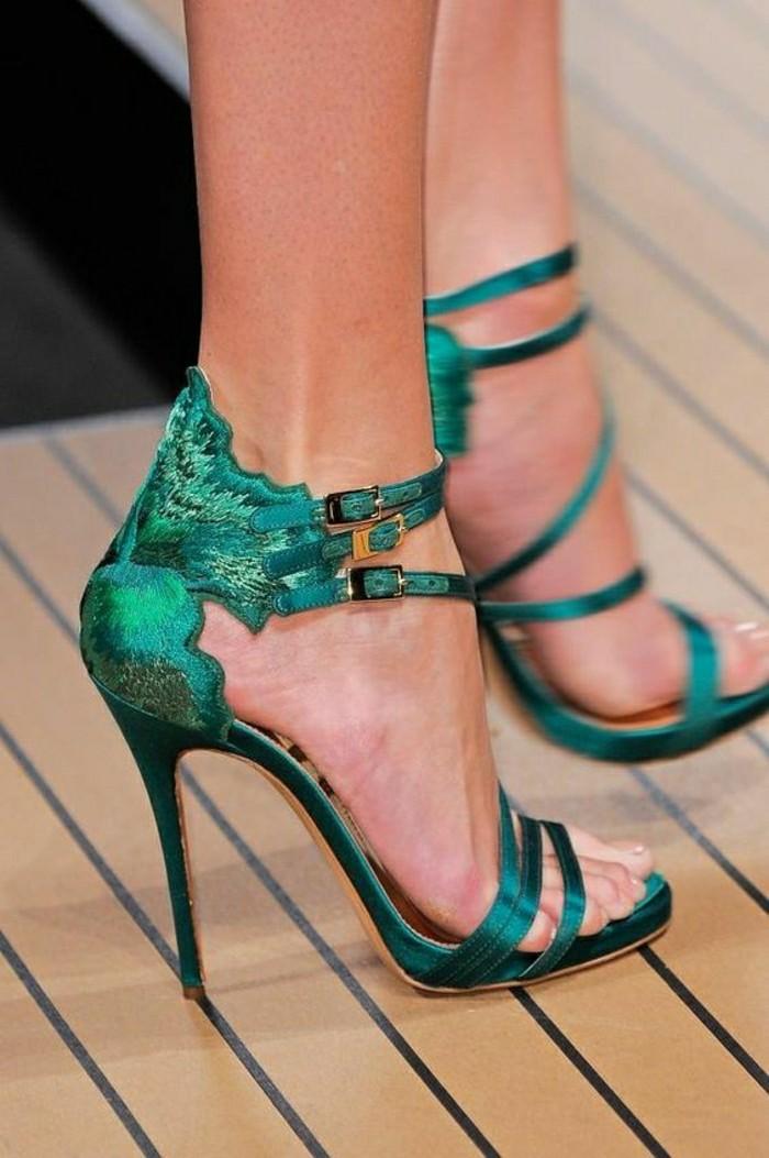0-chaussures-à-talons-sandales-pas-cher-vert-les-tendances-de-la-mode-chez-les-chaussures