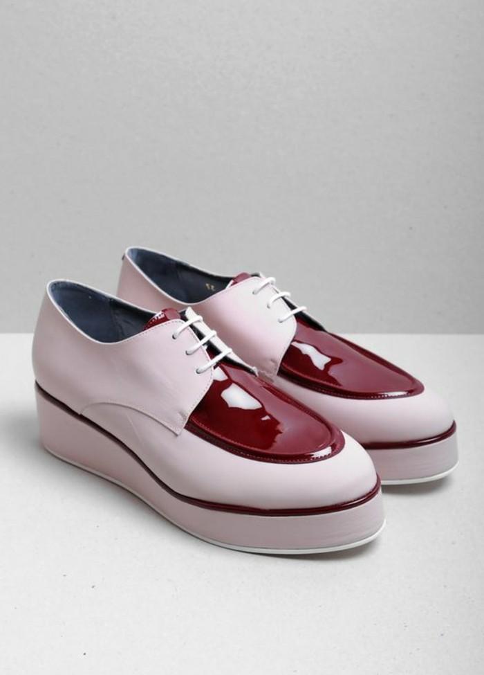 0-chaussures-femme-roses-lacet-rose-pale-cuir-rouge-femme-derbies-femme-pas-cher