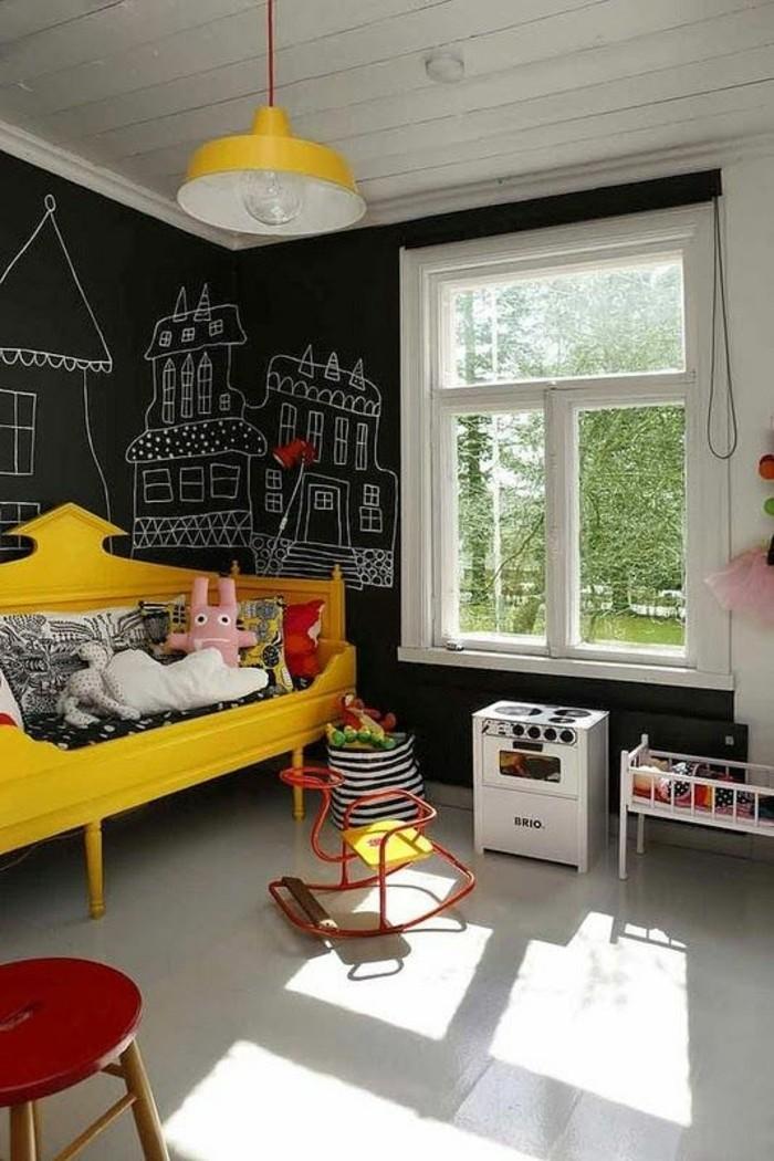 0-jolie-chambre-d-enfant-blanc-jaune-noir-comment-marier-les-couleurs-chambre-d-enfant
