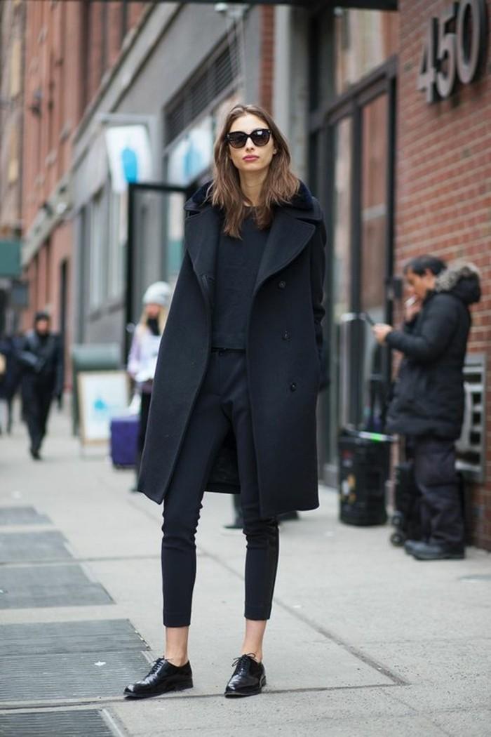 0-magnifique-autfit-all-in-black-derbie-femme-pas-cher-cuir-noir-lacet-noir