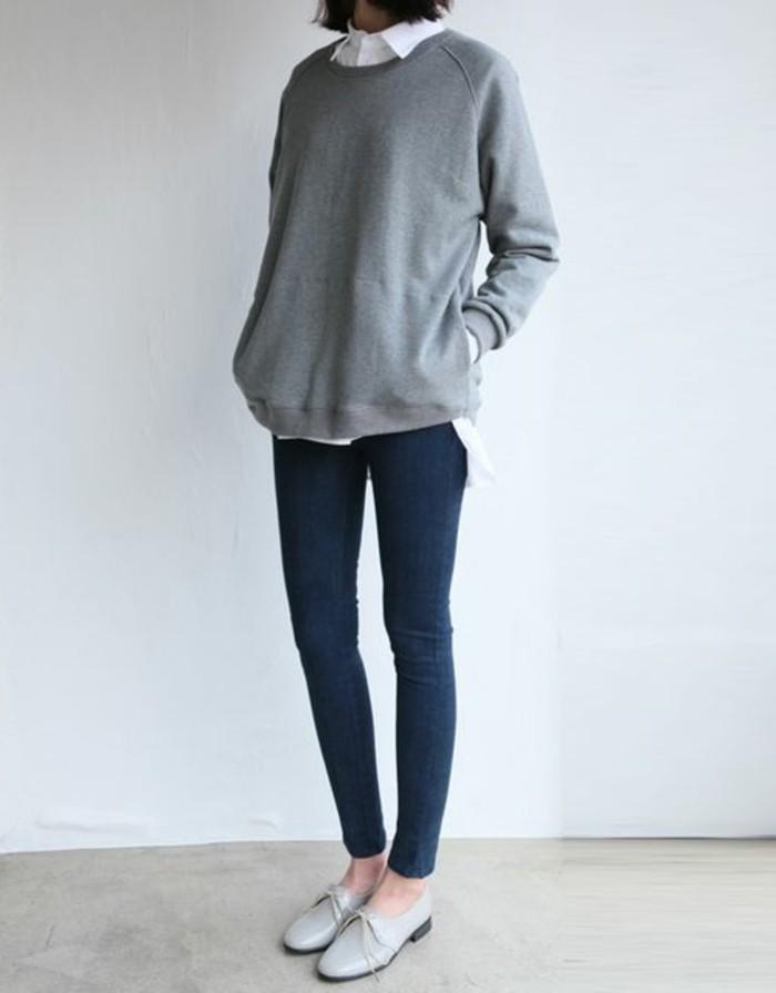 0-magnifique-chaussures-femme-élégantes-gris-clair-femme-chic-tendances-de-la-mode