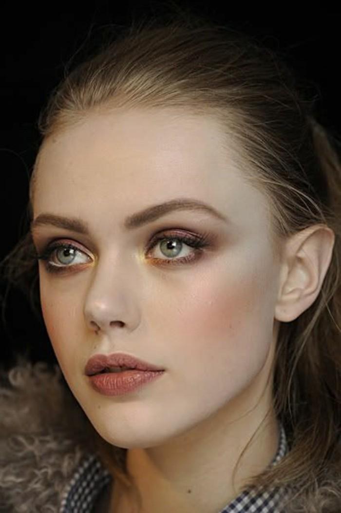 Comment choisir le maquillage pour agrandir les yeux Idee maquillage yeux