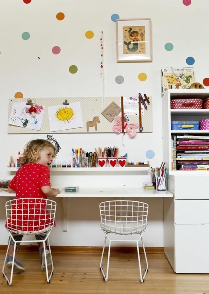 80 astuces pour bien marier les couleurs dans une chambre d enfant archzin - Peinture dans une chambre ...