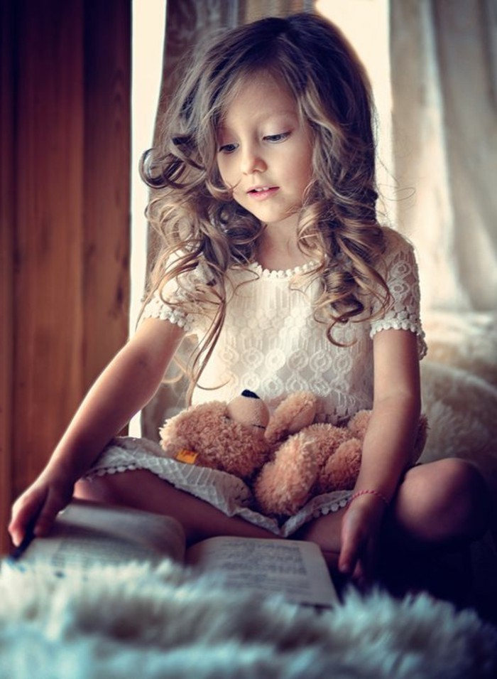 Photo gratuite: Fille, Enfant, Ours En Peluche - Image
