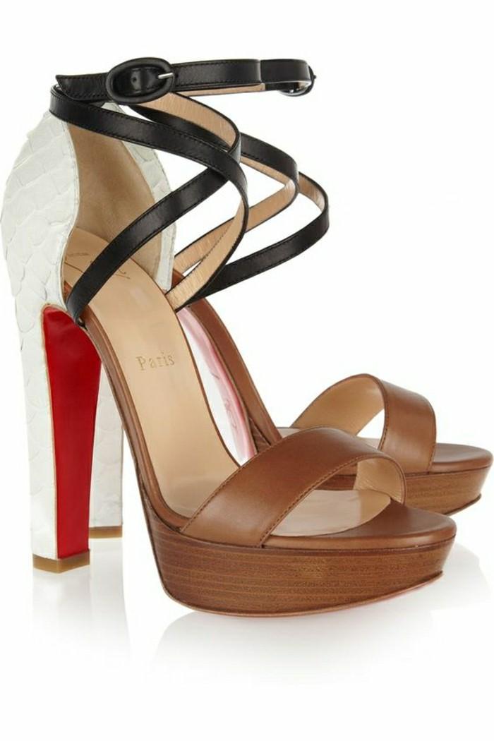 chaussures pour l 39 ete femme. Black Bedroom Furniture Sets. Home Design Ideas