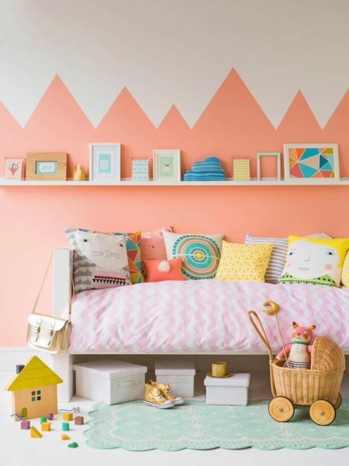 80 astuces pour bien marier les couleurs dans une chambre d enfant archzin - Couleur chambre enfant ...